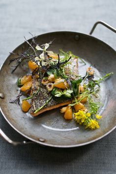 pan-seared trout with red boat fish sauce