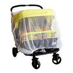 >> Click to Buy << Newborn High Density Anti-Mosquito Nets Twin Baby Stroller Children's Stroller Baby Car Twins Trolley Special Nets #Affiliate