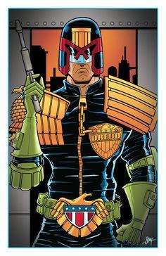Judge Dredd  Created by Cal Slayton