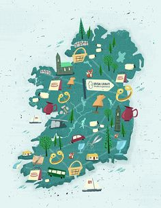 Crafts Council of Ireland by Peter Donnelly, via Behance