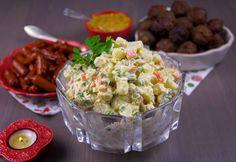 Ruska salata- Krämig potatissallad