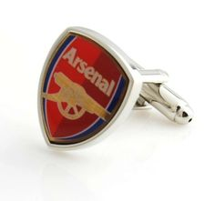 Arsenal team spirit cufflinks