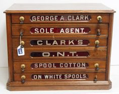 6-drawer George A. C