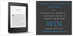 Kindle Paperwhite E-reader Giveaway!