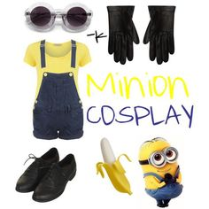 Minion_ despicable me_ Halloween outfit ☺. ✿