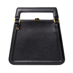 View this item and discover similar for sale at - Delvaux black structured trapeze shoulder bag with adjustable strap and golden harware. Couture Handbags, New Handbags, Black Handbags, Purses And Handbags, Vintage Purses, Vintage Bags, Vintage Handbags, Louis Vuitton Hobo Bag, Gucci Hobo Bag