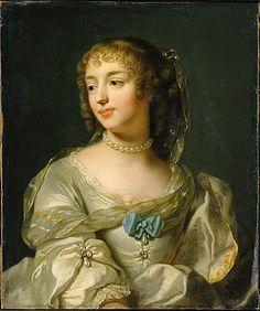 Marie de Rabutin-Chantal, Marquise de Sévigné, a woman of letters. Portrait by Lefevre. Musée Carnavalet. 1626-1696