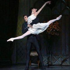 Alessandra Ferri and Roberto Bolle in Onegin. American Ballet Theatre 2017