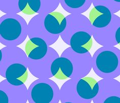 enormous halftone dots fabric by weavingmajor on Spoonflower - custom fabric