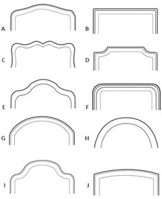 County Draperies - Bed Headboard - Ideas of Bed Headboard - County Draperies Headboard Designs, Headboards For Beds, Simple Headboard, Bed Furniture, Bedroom Bed Design, Bed Headboard Design, Bedroom Headboard, Master Bedrooms Decor, Headboard Shapes