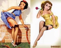 Love the pin up Snow White