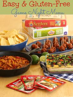 gluten-free game name menu made easy with McCormick Gluten-Free Recipe Mixes