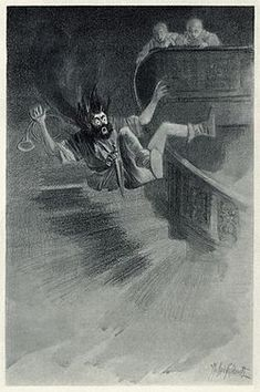 An illustration for the story The Canterville Ghost by the author Oscar Wilde Scary Stories, Ghost Stories, Oscar Wilde, Popular Short Stories, The Canterville Ghost, The Others Movie, Autumn Illustration, Practical Jokes, Lord