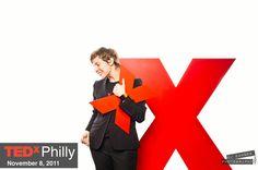 tedX Philly by Chris Dawson, via Behance