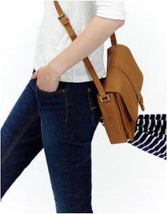 PADSTOWWomens Leather Cross Body Bag
