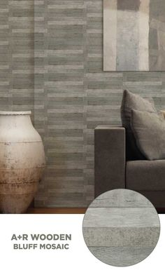 #tile #lowes #mosaics #glassmosaics #backsplash WS107GREY0612 Available at Lowe's and Lowes.com