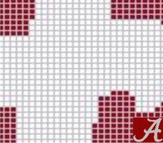 ALABAMA PILLOW - P1 via Loopaghans Custom Crochet. Click on the image to see more!