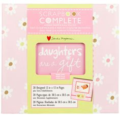 <div>Celebrate the gifts of daughters as you create the perfect keepsake for the little girl in ...
