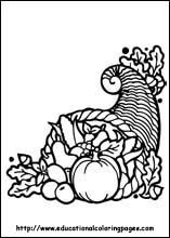 thanksgiving coloring pages free for kids