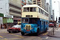 China Motor Bus / CMB 1965 Guy Arab MkV / Wong Chow rebody , AC 4756 on route originally a long-wheelbase single-decker. Kai Tak Airport, Routemaster, Bus Coach, Concorde, Chow Chow, Public Transport, Hong Kong, Transportation, China