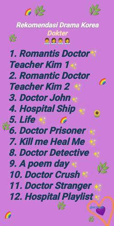 Korean Drama List, Korean Drama Movies, Korean Dramas, Netflix Movies To Watch, Movie To Watch List, Bingo Template, Film Recommendations, Romantic Doctor, Doctor Stranger