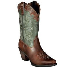 Ariat Women's Daisy Western Boots - I get a pair of these when I hit my next fitness goal!!!!