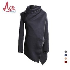 Cheap trench coat women, Buy Quality long trench coat women directly from China long trench coat Suppliers: Spring Autumn Hot Sale Irregular Asymmetry Long Trench Coat Women Overcoat Womens Coats Manteau Abrigos Mujer AWC0016