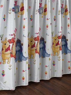 Perdea cu Winnie the Pooh