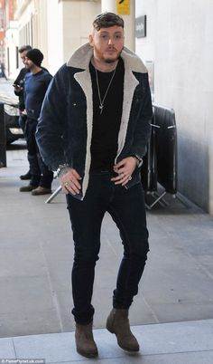 Overnight fame: James Arthur became a household name when crowned the winner of the X Factor in 2012