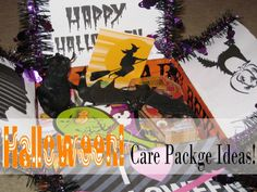 Vivaciously Vintage: Great Ideas for Halloween Themed Care Packages!