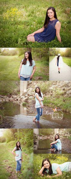 Courtney Jackson Photography // Marietta, Ohio photographer // high school senior photography // spring senior session // senior session // natural light photography