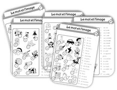 Learning French For Kids, Teaching French, Apple School, School Organisation, French Classroom, French Resources, French Immersion, Reading Intervention, Kids Learning Activities