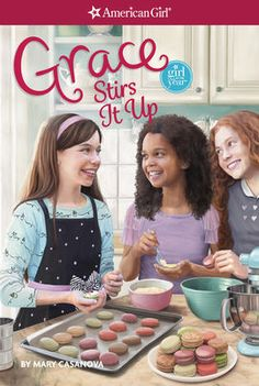 Grace Stirs it Up is the second book about Grace Thomas. See Also Grace, Grace Makes it Great, Grace Stirs Up Success, Grace and Sylvie: A Recipe for Family