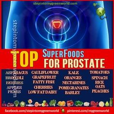 "☛ BY POPULAR DEMAND FOR OUR MALE FANS: SuperFoods for a healthy prostate.  DID YOU KNOW?  According to Linus Pauling Institute in Oregon, ""Prostate cancer is the second leading cause of cancer deaths in American men.""  FOR ALL THE DETAILS READ OUR ARTICLE:  http://www.stepintomygreenworld.com/greenliving/health/smart-choices-for-a-healthy-prostate/  ✒ Share 