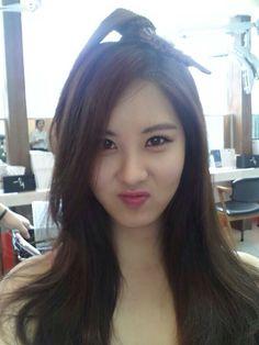 SNSD Seohyun Twitter selca 140610