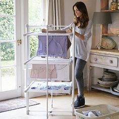 Dry-Soon 3-Tier Heated Tower Airer - from Lakeland