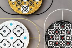 — The patterns of the mosaic are designed taking inspiration from the geometric repertoire of marble inlays of the Basilica of Santa Maria del Fiore in Florence. Lobed lozenges, circles, stylized flowers and ogives are drawn and colored in a contemporary way and then translated into mosaic.