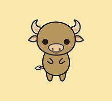 Kawaii zodiac-Taurus by peppermintpopuk