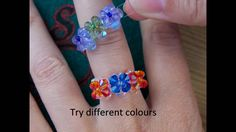 simple, but not well explained so watch more of other videos on such rings :) Beaded ring step by step tutorial