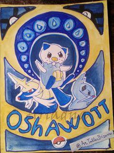 DAY 5 -- 30 days drawing challenge - Pokémon © Ariadna http://artallerbizarro.blogspot.com.es/2015/09/day-5-30-days-drawing-challenge-pokemon.html