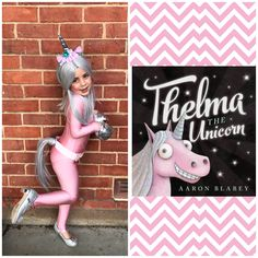 Home made Thelma the Unicorn book week costume #bookweek #kidscostume #unicorn #girlbookweekcostume