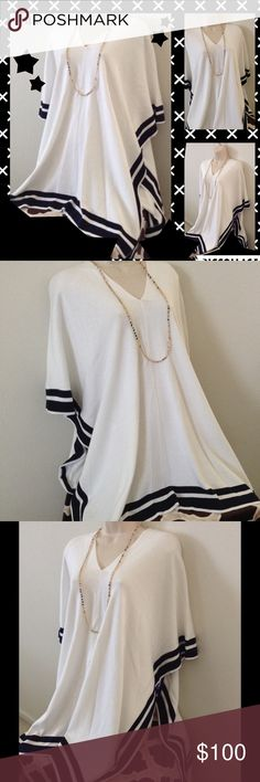 ⚡️⚡️FLASH SALE Nygard 1SZ PONCHO BUNDLE OFFER&SAVE EXCELLENT WINTER SALE -  Nautical Style Poncho goes with just about anything and wear it anywhere Sweaters Shrugs & Ponchos