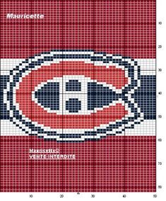 hockey motif for knitting Loom Patterns, Beading Patterns, Cross Stitch Patterns, Quilt Patterns, Knitting Charts, Knitting Stitches, Knitting Patterns, Knitting Ideas, Plastic Canvas Ornaments