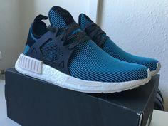 SPORTSWEAR ™®: Sneakers: Adidas NMD XR1 PK 'Bright Cyan' .