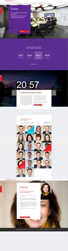 Johnson & Johnson Innovation Centers Global Website