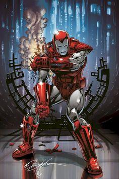 Iron Man Silver Centurion by Bob Layton and Ian Sokoliwski