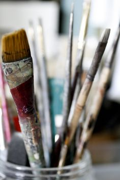 Nothing better then old paint brushes
