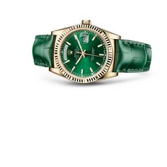 Check out this Rolex Day-Date watch from the Oyster Collection.    For more information regarding this timepiece, please be sure to visit http://www.cdpeacock.com/.