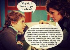 Did you know home schooling is rapidly growing in America as opposed to what Government and Corporate America are deciding with their drone model what to teach our children in school. Education System, Education Issues, Education Today, Education Reform, Classical Education, Primary Education, Public School, School Days, School Stuff