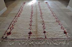 Handmade Beni Ouarain Moroccan Rug  BENI OURAIN, 6.2' x 12.2'. #beniourain